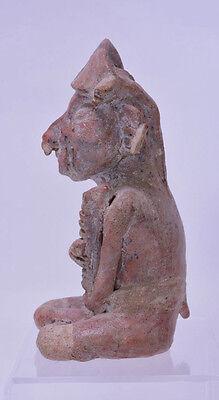 Large Fine Pre-Columbian Pottery Figure 4