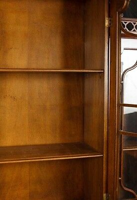 Victorian Gothic Breakfront Bookcase Mahogany Bookcases Chippendale 3
