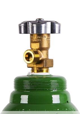 Bombola di gas 8 litri ARGON (82%) + CO2 (18%) inerte MIG saldatura + Riduttore 7