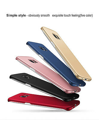 f91b17fe57fd ... Ultra Thin Slim Matte Hard Back Case Cover For Samsung Galaxy S7 Edge S8  Plus 7