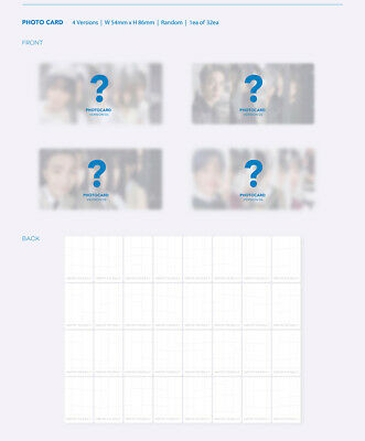 BTS [MAP Of THE SOUL:7] Album RANDOM CD+POSTER+Foto Buch+Lyric+Buch+2p Karte+etc 9