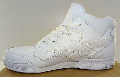 b473950f202 ... REEBOK BB4600 Mid Men s Basketball Shoes White Leather NWD 6.5 to 15M 2