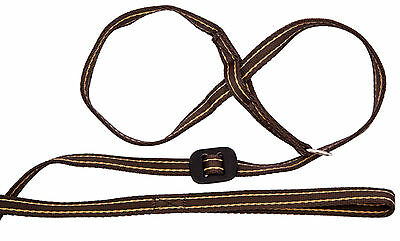 Gencon All in One, Dog Headcollar and Lead all in one-COFFEE/CREAM
