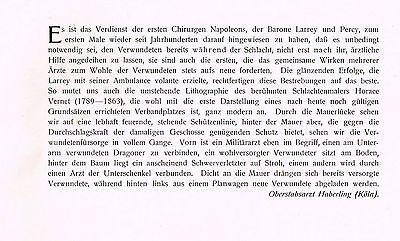 Kunstbeilage Medizinische Wochenschrift  1912 No. 46 Verwundetenfürsorge in der