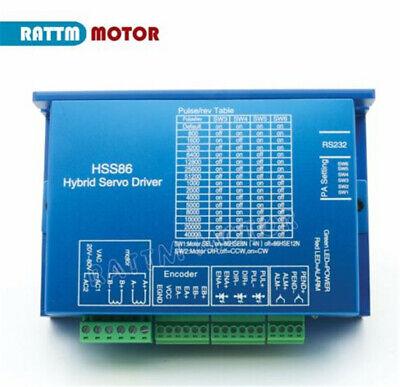 EU➞ HSS86 Hybrid Servo Driver NEMA 34 Closed Loop Stepper Servo Motor 8N.m kit 11
