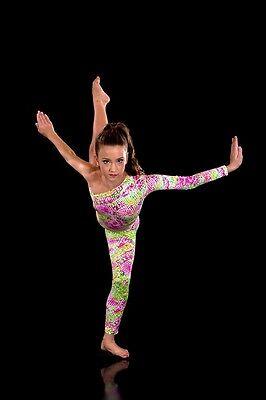 3 of 6 IN STOCK Modern Creation Print Unitard. Dance Costume Jazz/Contemporary  sc 1 st  PicClick UK & IN STOCK MODERN Creation Print Unitard. Dance Costume Jazz ...