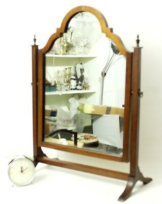 Antique Victorian Mahogany Dressing Table Swing Mirror - FREE Shipping [PL4583] 7
