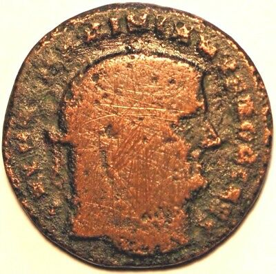 Ancient Roman Coin . AS ND 2