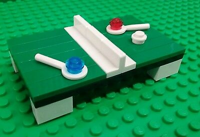 Terrific New Lego Green Table Tennis Table Paddles Ball Minifigs Figures X 1 Home Interior And Landscaping Mentranervesignezvosmurscom