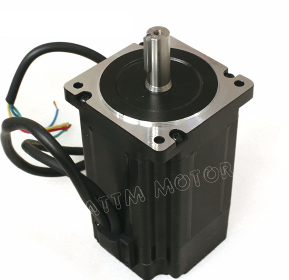 EU 3 x Nema34 4.5N.m CNC Kit Closed Loop Servo Motor 82mm &HSS86 Driver&3M Cable 4