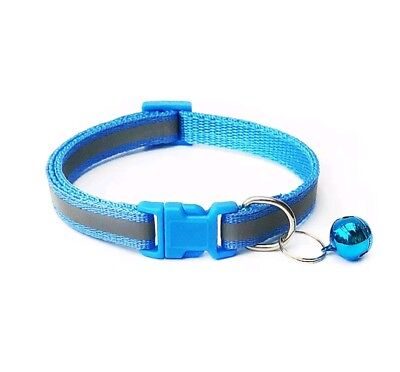 Reflective Dog Cat Kitten Collar Pet Puppy Adjustable Harness with Bell 6