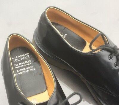 Dr Martens 1462 black leather shoes UK 10.5 EU 45.5 Made in England 4