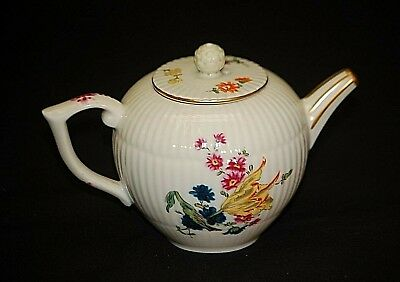 Furstenberg Miniature Tea Pot Victoria & Albert Museum Franklin Mint Porcelain 2