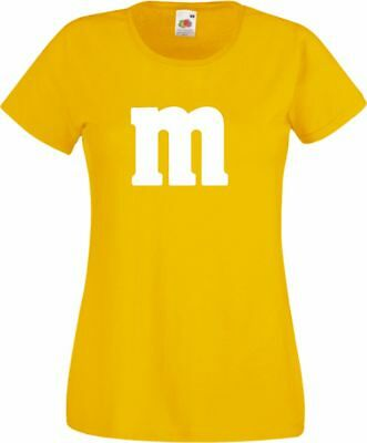 Für M&M Kostüm Fans MM T-Shirt Karneval Fasching Dart Gruppenkostüm Herren Damen 8
