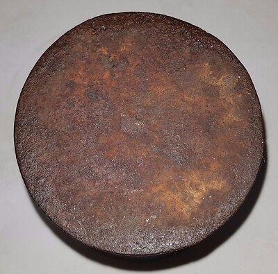Antiker Mörser Apotheker Gefäß Behälter Eisen Guss 4