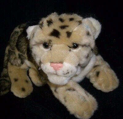 Ganz Webkinz Signature Clouded Leopard Tiger Endangered Stuffed