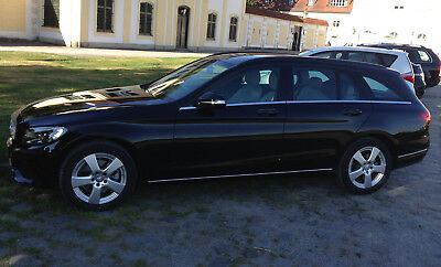 Chrom Zierleisten Türleisten  Mercedes C-Klasse W204 W 204 S204