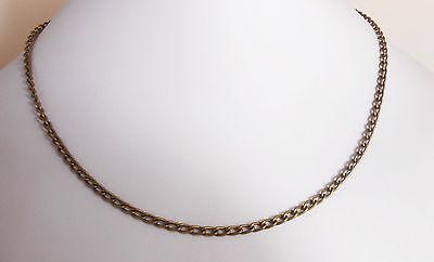 12 Ankerkette Karabinerverschluss NEU Halskette Bronzefarben 45.6cm