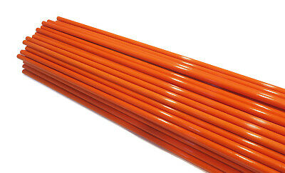 Stakes 48 inches Pack of 50 Driveway Markers 5//16 inch /& Rods Snow Poles