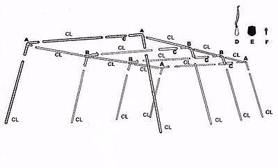 Batting Cage Net 10' x 12' x 30' #24-42PLY w/ Door & Frame Baseball Softball 5