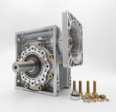 NMRV063 Worm Gear Speed Reducer NEMA52 Ratio 10 15 20 25 30 40 50 60 80 100:1 2