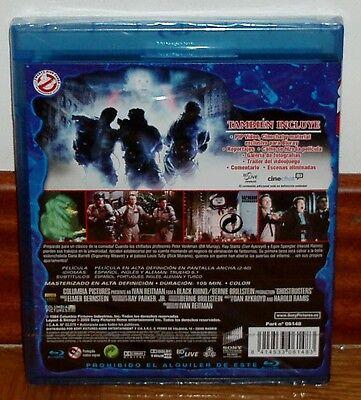 Cazafantasmas Blu-Ray Nuevo Precintado Comedia Fantasia (Sin Abrir) R2 2