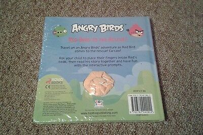 Angry Birds Snood Hat Scarf Gloves Soft Toy Book Hand Puppet Red Bird Rescue New 8