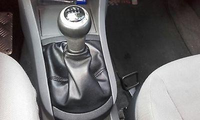Cuffia leva cambio Seat Cordoba 2002-2009 vera pelle nera