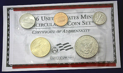 2006 UNCIRCULATED Genuine U.S. MINT SETS ISSUED BY U.S. MINT 5