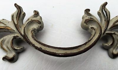"Vintage Chic French Provincial Drawer Pull Antique Hardware 3"" on center 3"