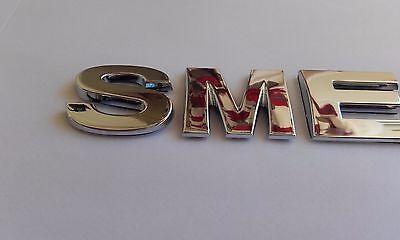 New 3D Replacement Chrome Letters For Kettle, Fridge, Cooker Etc.. Spelling Smeg 2