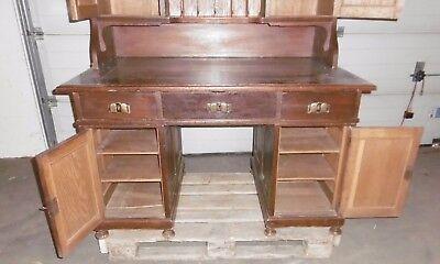 Aufsatz Schreibtisch Alt Antik Schreib Tisch Zherrichten Sekretär