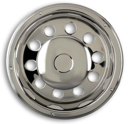 """Radzierblenden 22,5/"""" Edelstahl Tiefbett Radkappen Radblenden LKW Truck wheel"""