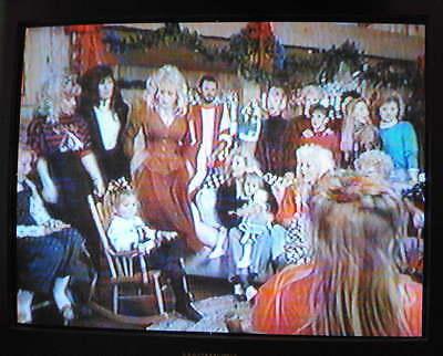 """DOLLY PARTON """"HOME FOR CHRISTMAS"""" TV-SPECIAL, 1990 DVD - Smokey Mountains - RARE 4"""