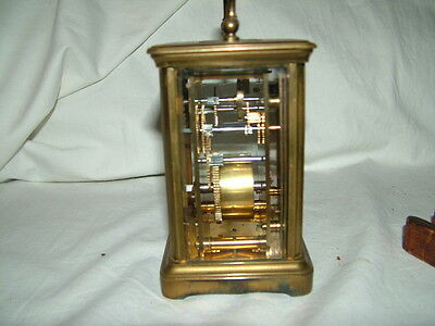 very old antique carriage clock 3