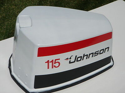 Johnson Outboard 10hp Commercial Decal Set OEM 438435