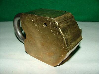 Eder & Co 10 Lever Brass Padlock, No Key 4