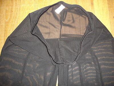 Pantalon sheer taille L noir totale transparence sexy neofan gay inter SEUL P 4