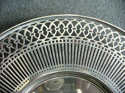 American sterling silver by Watson - pierced rim plate 3