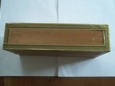 Zigarrenkiste Holz Sumatra Deckblatt Fehlfarben 60Pf Zigarre Nr. 610 F  Schachte