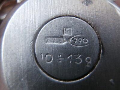 uovo - ovetto - fiocco - placcato - argento 990 - R 10-13 Gr. - firenze 5