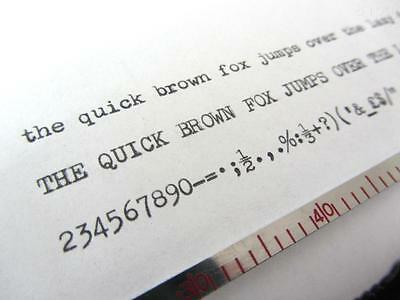 Olivetti Lettera 22 *black* Top Quality *10 Metre* Typewriter Ribbon + Eyelets 2