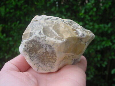 RARE Acheulian Lower Palaeolithic Patinated Flint CORE CHOPPER Hampshire UK 2