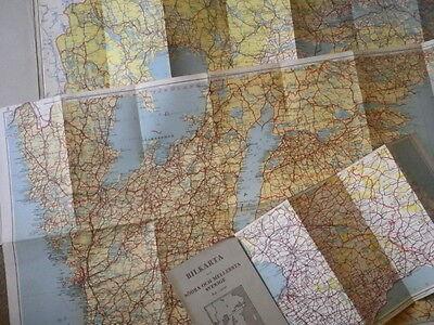 Sweden in Three Parts - Vintage Maps 6