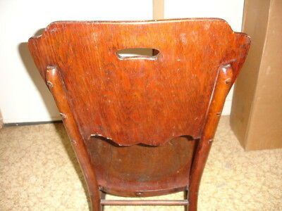 Beautiful Antique Wooden Rocking Chair 8