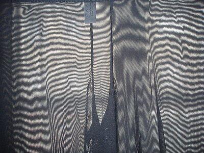 Pantalon sheer taille L noir totale transparence sexy neofan gay inter SEUL P 6