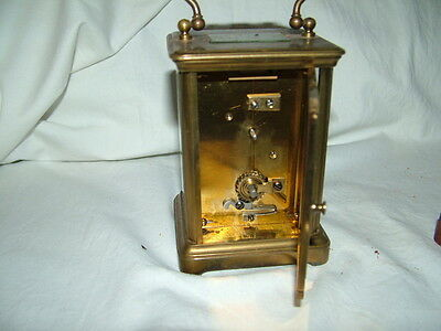 very old antique carriage clock 4