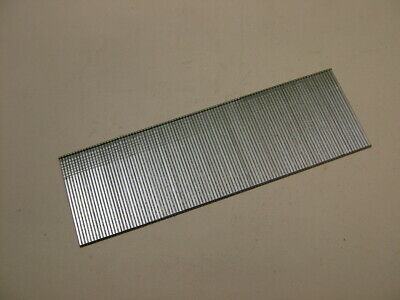 2nd fix collated galvanised straight brad finish nails 18 gauge 40mm box of 1000 2
