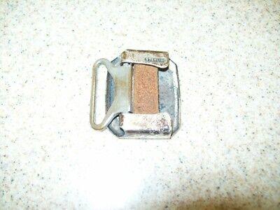 Vintage Belt Buckles Solid Brass Sterling & Pioneer Silver Plate (Lot of 3) 8