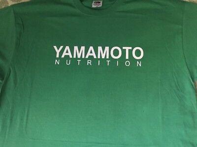 "T-Shirt Bodybuilding Fitness Palestra ""Yamamoto Nutrition"" 4"